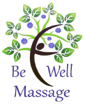 Top Massage Therapists in Medford | Be Well Massage Logo
